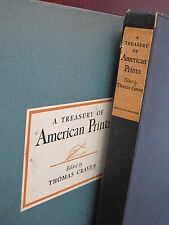 "Rare 1939 ""A Treasury Of American Prints"" 1st Ed., 100 Etchings, w/ Slip Case"