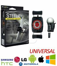 NITE Ize Steelie freemount + SUPPORT VENTOUSE Trousse iphone galaxy htc uber