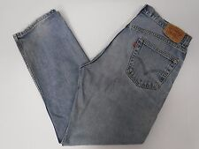 Levis Mens 505 Regular Fit Blue Jeans 36x32 36/32 FREE SHIPPING 675