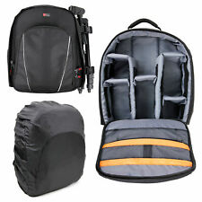 Rucksack w/ Adjustable Interior & Rain Cover for Canon EOS 1200D / 650D / 1100D