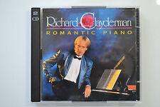 Richard Clayderman - Romantic Piano - 2 CD Polydor no barcode