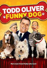 Todd Oliver: Funny Dog (DVD, 2014) New Sealed Rare With Sleeve