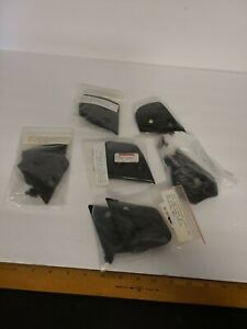 Lot of 6 helmet side covers with screws Kimpex and others All NEW Sealed NOS