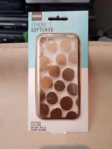 HEMA Softcase iPhone 7 Coque Arrière Souple transparent OR