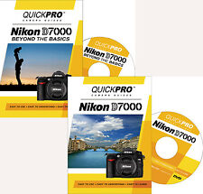 QUICKPro Training DVD Nikon D7000 Set ->NEW< Free US Shipping