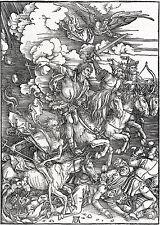 Albrecht Durer: The Four Horsemen of the Apocalypse - Art Print