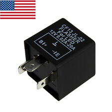 3Pin Car Flasher Relay Fix LED Light Turn Signal Hyper Flash CF13 CF13JL-02 EP34