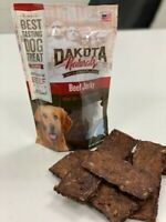 All Natural Dog Treat/Grass-Fed Beef Jerky Made in the USA 81% Crude Protein