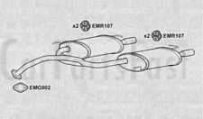 REAR BACK BOX TAIL PIPE Hyundai Coupe 2.0 Petrol Coupe 01/2007 to 12/2009