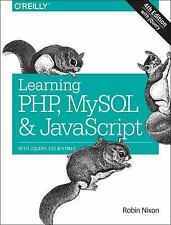 Learning Php, MySql & JavaScript: With jQuery, Css & Html5 [Learning Php, Mysql,