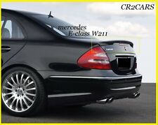 MERCEDES W211 E-CLASS SALON REAR/BOOT SPOILER (2002-2008)