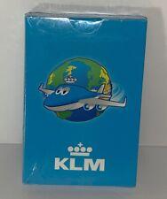 Vintage KLM Airline Airplane Kids Memory Cards Game New Sealed