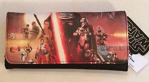 BNWT Loungefly Star Wars: The Force Awakens Movie Poster Photo Wallet Kylo Ren