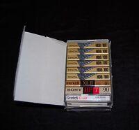 Denon HD8/100 High Bias Cassette Tapes Metal Particle Japan + Bonus Tapes #42