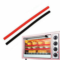 Oven Rack Edge Clip Guard Heat Resistant Burns Silicone Insulation Strip