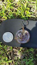 Epoxy Resin Copper Wrapped Pendant Amethyst Inside handmade