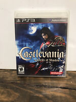 Castlevania Lords of Shadow (Sony PlayStation 3 PS3) with manual
