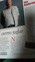 Jethro Tull. Ian Anderson Entrevista 3 Páginas.