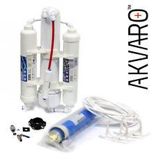 Aquarium Umkehrosmoseanlage AKVARO® Wasserfilter Membran 75GPD FABRIKVERKAUF RO3