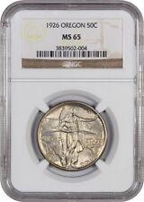 1926 Oregon 50c NGC MS65 - Silver Classic Commemorative