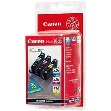 Canon CLI-526 ciánico, Magenta, cartucho de tinta amarillo