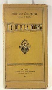 Arturo Colautti Dio e la donna Galli 1887