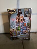 THE ULTIMATE BATCAVE STANDS 4 FT WITH BATMAN FIGURE  MATTEL 2016 NEW OPEN BOX