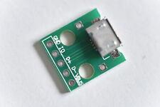 Micro USB A DIP adattatore 5pin Connettore di tipo B DONNA Convertitore PCB