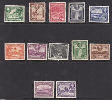 British Guiana SG288/300 KGV Pictorial Set M/Mint