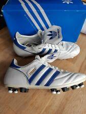 adidas Originals Profi Liga UK 7 US 7.5 mixed stud conversion white/royal blue