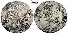 PRAGER: HOLLAND, Löwentaler 1600,  Leeuwendaalder. ❀, Taler, Niederlande  [1353]