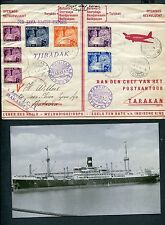 FFC  1939 BATAVIA-TARAKAN vv, opvarende  JCJL Stoomschip SS TJIBADAK