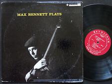 MAX BENNETT Plays LP BETHLEHEM BCP 50 US 1957 DG MONO Charlie Mariano Stan Levey