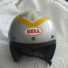 Bell Super Magnum Helmet 7 3/4 1970  TopTex Long Beach