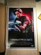 terminator 2 dédicace Edward Furlong + certificat (no sideshow prime1 hot toys)