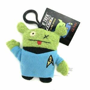 Gund Uglydoll Star Trek Plush Doll 4 1/2 in Keychain Ox as Mr Spock