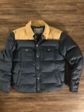 Gant By Michael Bastian Autumn 2013 Stockbridge Down Jacket Blue Rare Corduroy