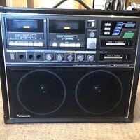 Panasonic RQ-84 Vintage 8 Track Karaoke Boombox (cassette  tape not working)