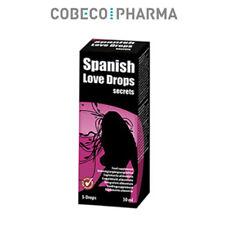 Stimolante in gocce Cobeco Pharma Spanish Love Drops 30 ml. stimulating