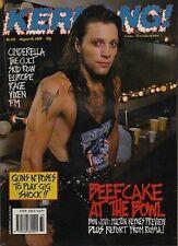 Jon Bon Jovi on Kerrang Cover 1989      Europe    Vixen    Skid Row