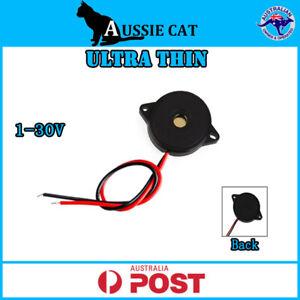 Genuine UltraThin 1-30V 12V Passive PiezoElectric Buzzer Alarm Beep 4mmThickness
