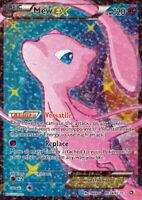 POKEMON • Mew EX Radiant Mythic Collection ULTRA RARA HOLO RC24/RC25 NM