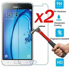 2x Tempered Glass Protective Screen Protector Film for Samsung Galaxy J3