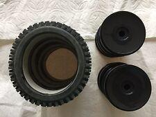 NIB morhawk  w/black dish not glue  1/8 Buggy Tires 17mm hex