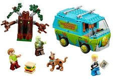Scooby Doo The Mystery Machine  Building Block Model Educational Toys fits lego