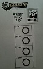 Yamaha Rhino Grizzly Kodiak 400 450 550 600 660 700 Prime shim clutch mod coop45