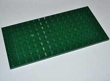 LEGO - DARK GREEN BUILDING PLATE 8X16 STUDS BASE BOARD / BASEPLATE MAT 92438
