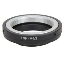 UN3F L39 M39 Lens to Micro M 4/3 M43 Adapter Ring for Leica L39-M4/3 E-PM1 EM5 G