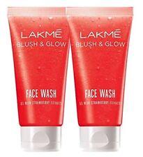 Pack of 2 Lakme Fruit Blast Face Wash - Strawberry 100g free shipping