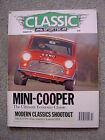 Classic & SportsCar (Feb 1991) Mini Cooper S, Alfa GTV6, Abarth 205, MG Magnette